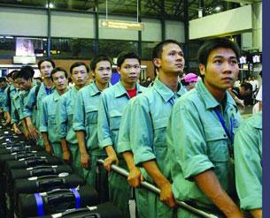 Trắng tay vì xuất khẩu lao động chui - Ảnh 1.