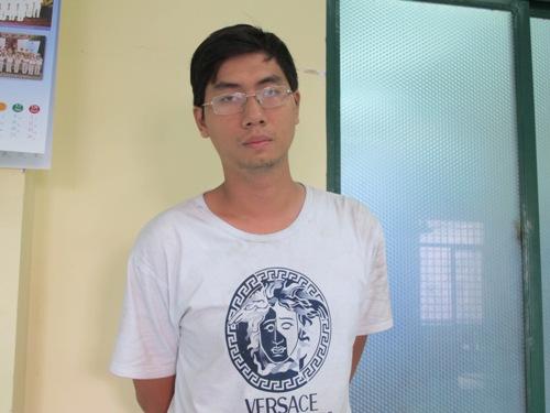 Phan Tấn Phong tại công an
