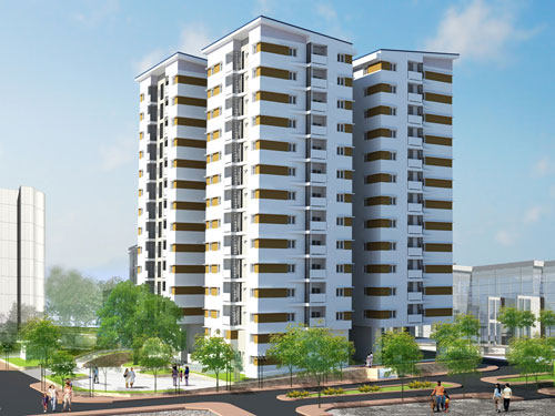 Giá nhà chung cư Hà Nội và TP HCM giảm nhẹ - Ảnh 1.