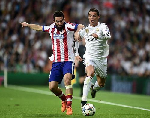 Ronaldo không dễ ghi bàn vào lưới Atletico Madrid lần này