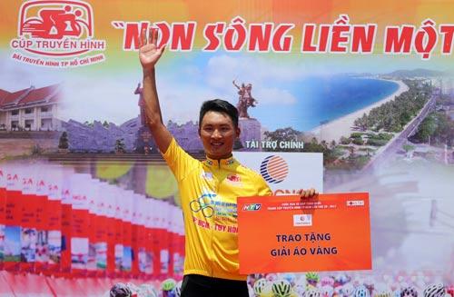 Nguyễn Văn Dương đã giữ Áo vàng 6 chặng gần nhất