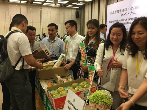 Doanh nghiệp Nhật tìm cơ hội bán thực phẩm vào Việt Nam