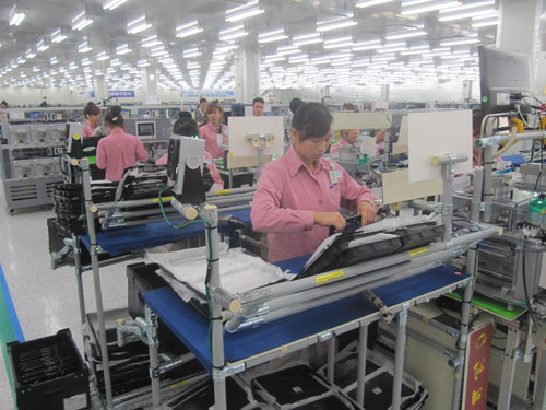 Công nghiệp hỗ trợ Samsung đang hình thành - Ảnh 1.