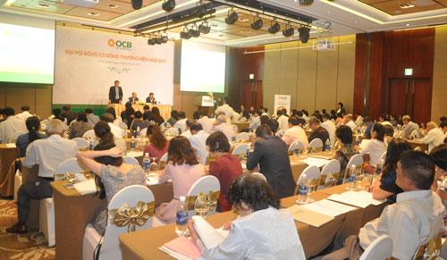 Buổi đại hội cổ đông thường niên OCB năm 2017