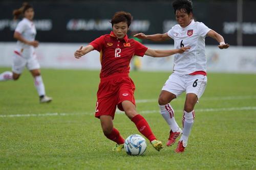 Nữ Việt Nam – Myanmar 3-1: Chiến thắng xứng đáng - Ảnh 11.