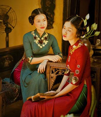 Áo dài Việt ra mắt tại Tuần lễ Thời trang cao cấp New York - Ảnh 1.