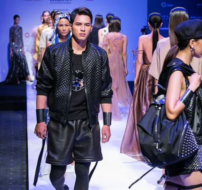 Một số mẫu sẽ trình diễn tại Tuần lễ Thời trang quốc tế Việt Nam 2017 (Ảnh do nhà tổ chức cung cấp)