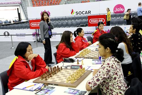Cờ vua nữ Việt Nam tranh tài ở Giải Vô địch thế giới - Ảnh 1.