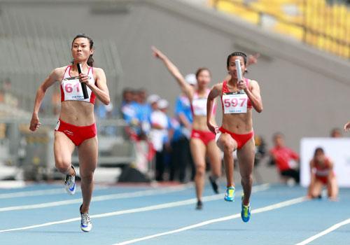 Sức mạnh của nữ vận động viên - Ảnh 1.