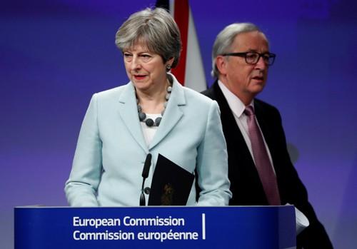 Đàm phán Brexit đạt đột phá - Ảnh 1.