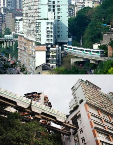 Những tuyến đường sắt ấn tượng trên thế giới - Ảnh 2.