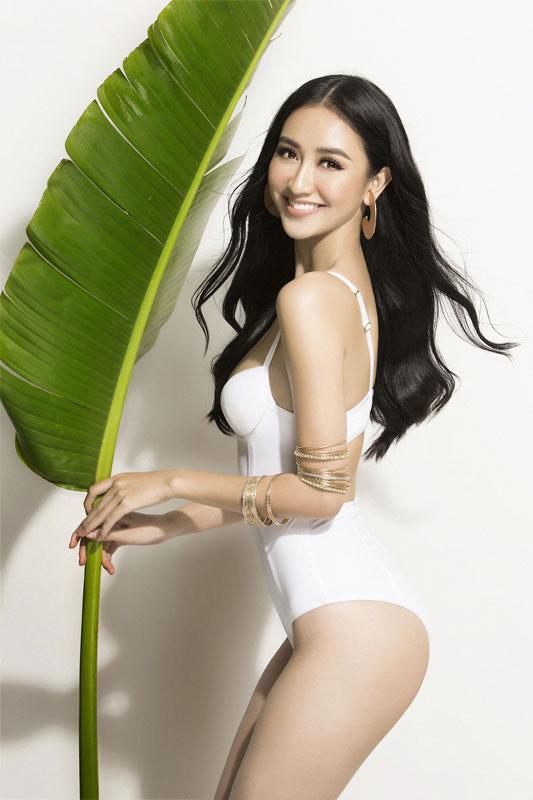 Hà Thu đứng đầu tốp 10 sáng giá ngôi vị Hoa hậu Trái đất - Ảnh 3.