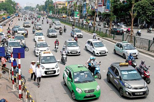 Taxi một màu: Triệt tiêu tính cạnh tranh - Ảnh 1.