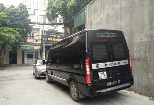Loại xe khách trá hình này đang gây bức xúc cho nhiều nhà xe ở tỉnh Thanh Hóa