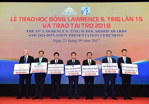8,46 tỉ đồng được trao tặng tại lễ trao học bổng Lawrence S. Ting lần thứ 15 - Ảnh 4.