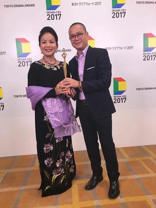 NSƯT Minh Trang xúc động nhận giải tại Liên hoan phim truyền hình quốc tế Tokyo 2017 - Ảnh 4.