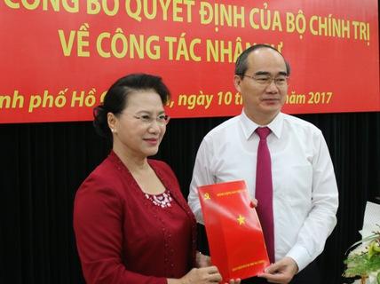 Ông Nguyễn Thiện Nhân là ĐBQH TP HCM, ông Đinh La Thăng về Thanh Hóa - Ảnh 1.