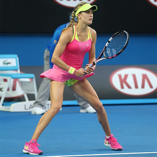Mỹ nhân quần vợt Bouchard diện bikini tím bỏng mắt - Ảnh 7.