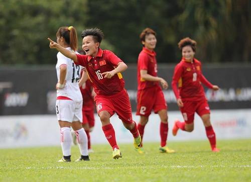 Nữ Việt Nam – Myanmar 3-1: Chiến thắng xứng đáng - Ảnh 6.