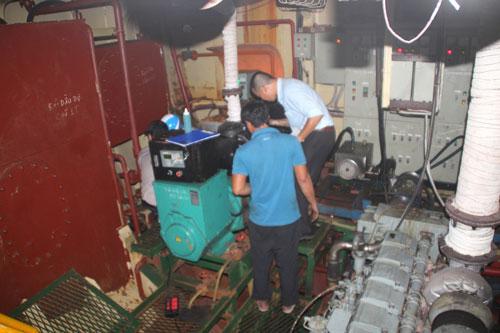 Chuyển cơ quan điều tra vụ tàu vỏ thép hư hỏng - Ảnh 1.