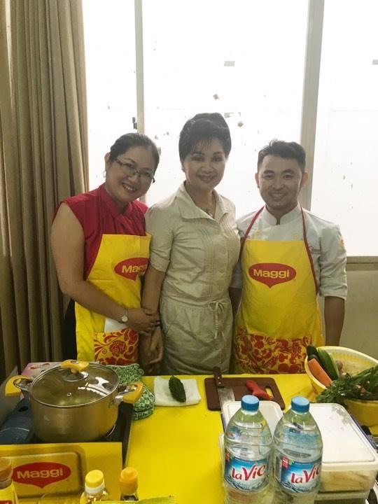 Nghệ sĩ Xuân Hương làm giám khảo Nhà báo với nghệ thuật ẩm thực - Ảnh 9.