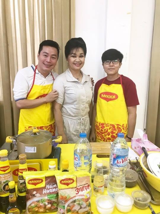 Nghệ sĩ Xuân Hương làm giám khảo Nhà báo với nghệ thuật ẩm thực - Ảnh 3.