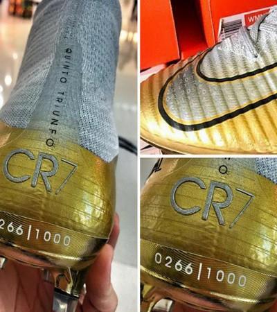 Nike tung giày độc mừng Quả bóng vàng Ronaldo - Ảnh 2.