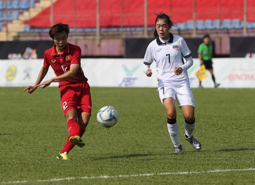 Tuyển nữ Việt Nam - Thái Lan 1-1: Chờ lượt trận cuối - Ảnh 2.