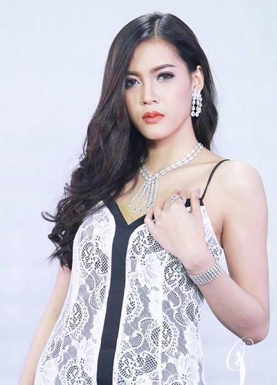 Cận cảnh nhan sắc Hoa hậu Hoàn vũ đầu tiên của Lào - Ảnh 8.