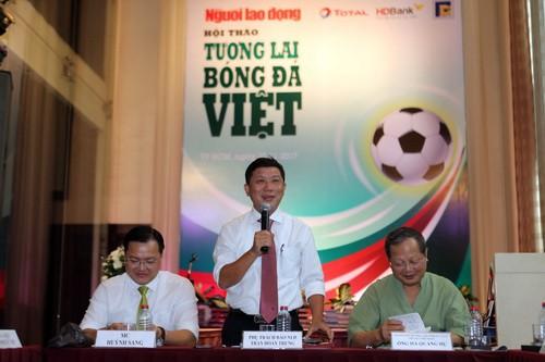 VFF cần kiện toàn tổ chức, chú trọng đào tạo bóng đá trẻ - Ảnh 3.