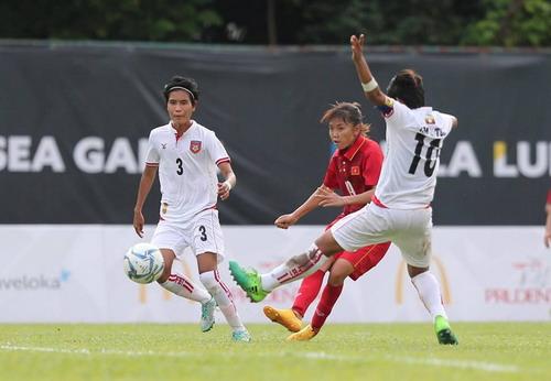 Nữ Việt Nam – Myanmar 3-1: Chiến thắng xứng đáng - Ảnh 1.
