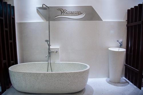 Sản xuất lavabo, bồn tắm theo yêu cầu cá nhân - Ảnh 1.