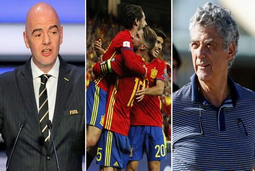 FIFA dọa trục xuất Tây Ban Nha khỏi World Cup 2018 - Ảnh 2.