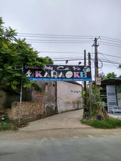 Quán karaoke nơi xảy ra vụ án mạng