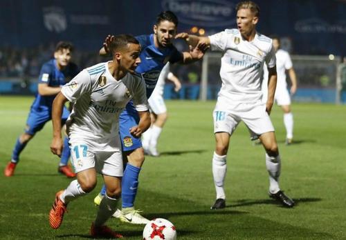 Trọng tài giúp phạt đền, Real Madrid chờ vé tứ kết Cúp Nhà vua - Ảnh 4.