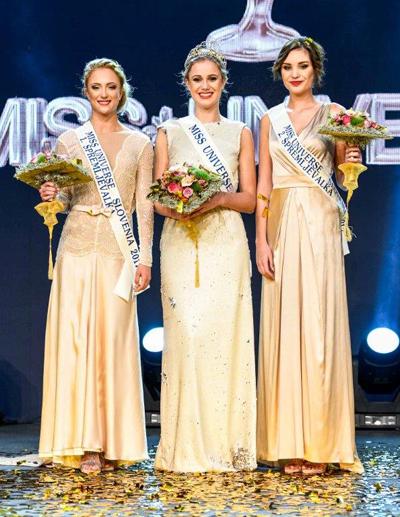 Cận cảnh cô gái Úc đăng quang Hoa hậu Slovenia - Ảnh 2.