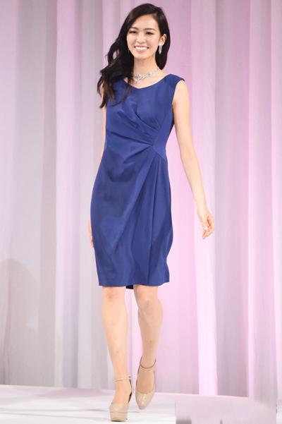 Cận cảnh vẻ đẹp tân Hoa hậu Thế giới Nhật Bản - Ảnh 4.