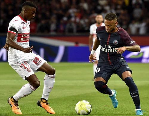 Neymar lại nhảy múa, PSG đè bẹp Toulouse tại Paris - Ảnh 2.
