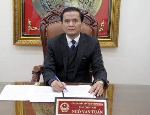 Thay quyết định quyết toán dự án tiền tỉ mà ông Ngô Văn Tuấn đã ký