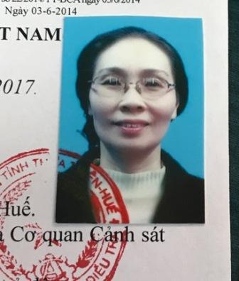 Lê Thị Kim Cúc từ lệnh truy nã của cơ quan công an