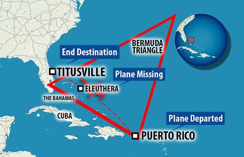 4 du khách mất tích bí ẩn khi bay qua tam giác quỷ Bermuda - Ảnh 2.