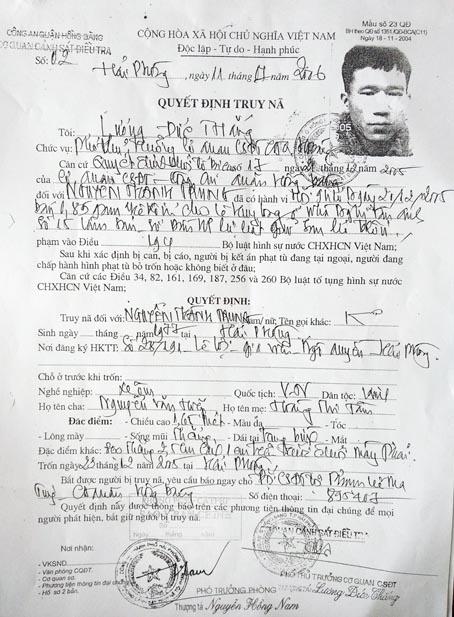 Tội phạm Hải Phòng trong vai bảo vệ ở Biên Hòa - ảnh 1
