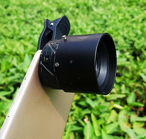 Độ ống kính chụp macro cho smartphone - Ảnh 1.