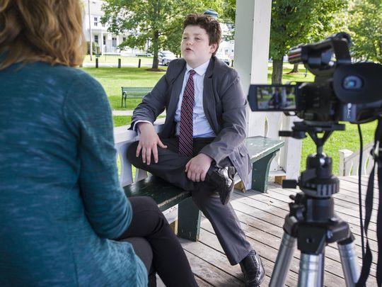 Mỹ: Tranh cử thống đốc bang Vermont ở tuổi 13 - Ảnh 2.