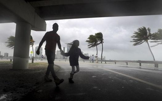 Mỹ: Thành phố ma chờ bão Irma - Ảnh 4.