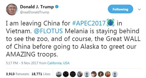 APEC 2017: Tổng thống Mỹ Donald Trump đến Đà Nẵng - Ảnh 20.