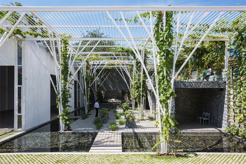 Vườn rau gần 600 m2 ở TP HCM giành giải kiến trúc quốc tế - Ảnh 2.