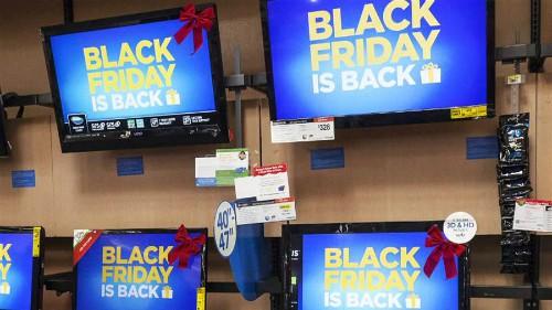 Chiêu trò bán TV trong dịp Black Friday của người Mỹ - Ảnh 2.