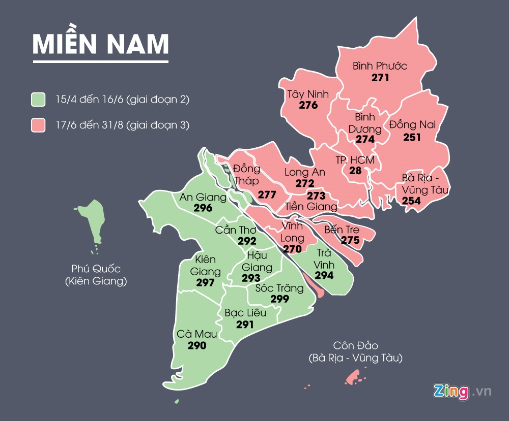 Mã vùng điện thoại cố định mới của 63 tỉnh thành