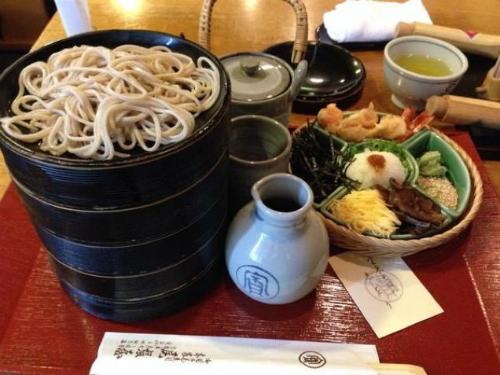 Bên trong tiệm mì soba phục vụ hoàng gia Nhật Bản - Ảnh 4.